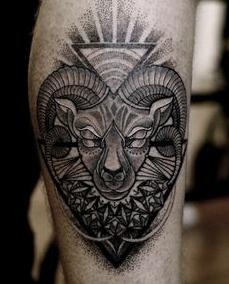 Trojúhelník tetování